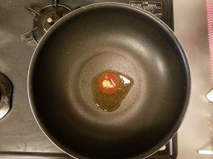 ごま油と生姜すりおろし