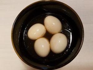 ゆで卵味付け
