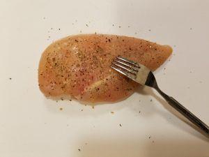 鶏むね肉の下ごしらえ