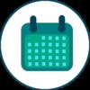【WPF】自作カレンダー その1(とりあえず当月を表示)