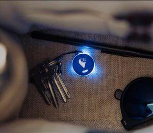 LEDで光って知らせる