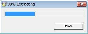 プログレスの表示