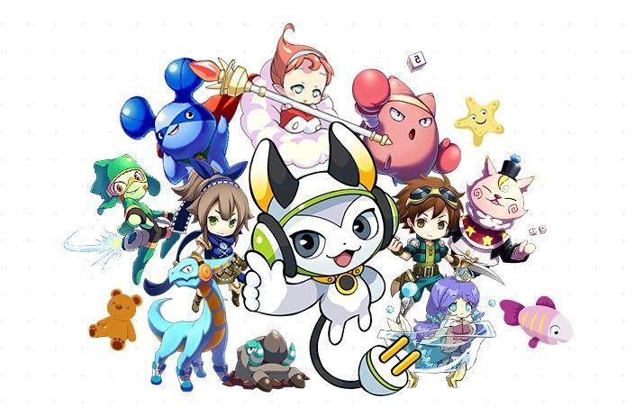 多彩なキャラクター