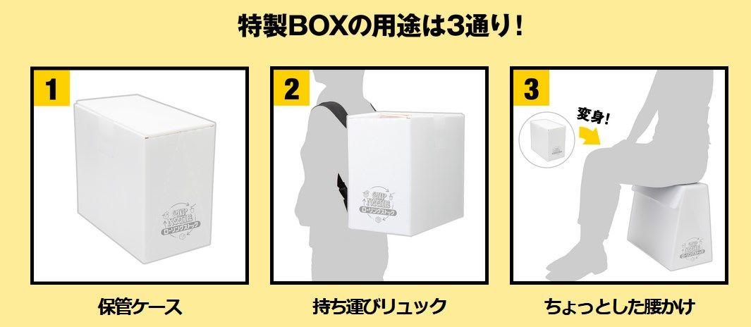 特製ボックスの利用方法