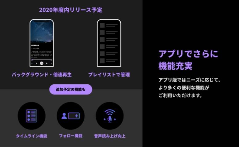 アプリ機能