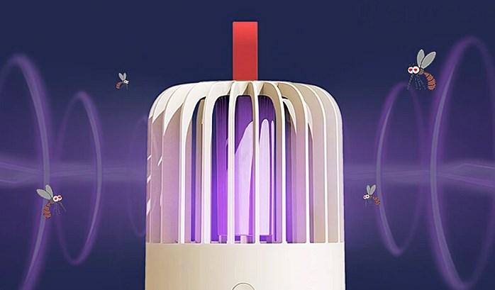 LEDで効率的に捕獲